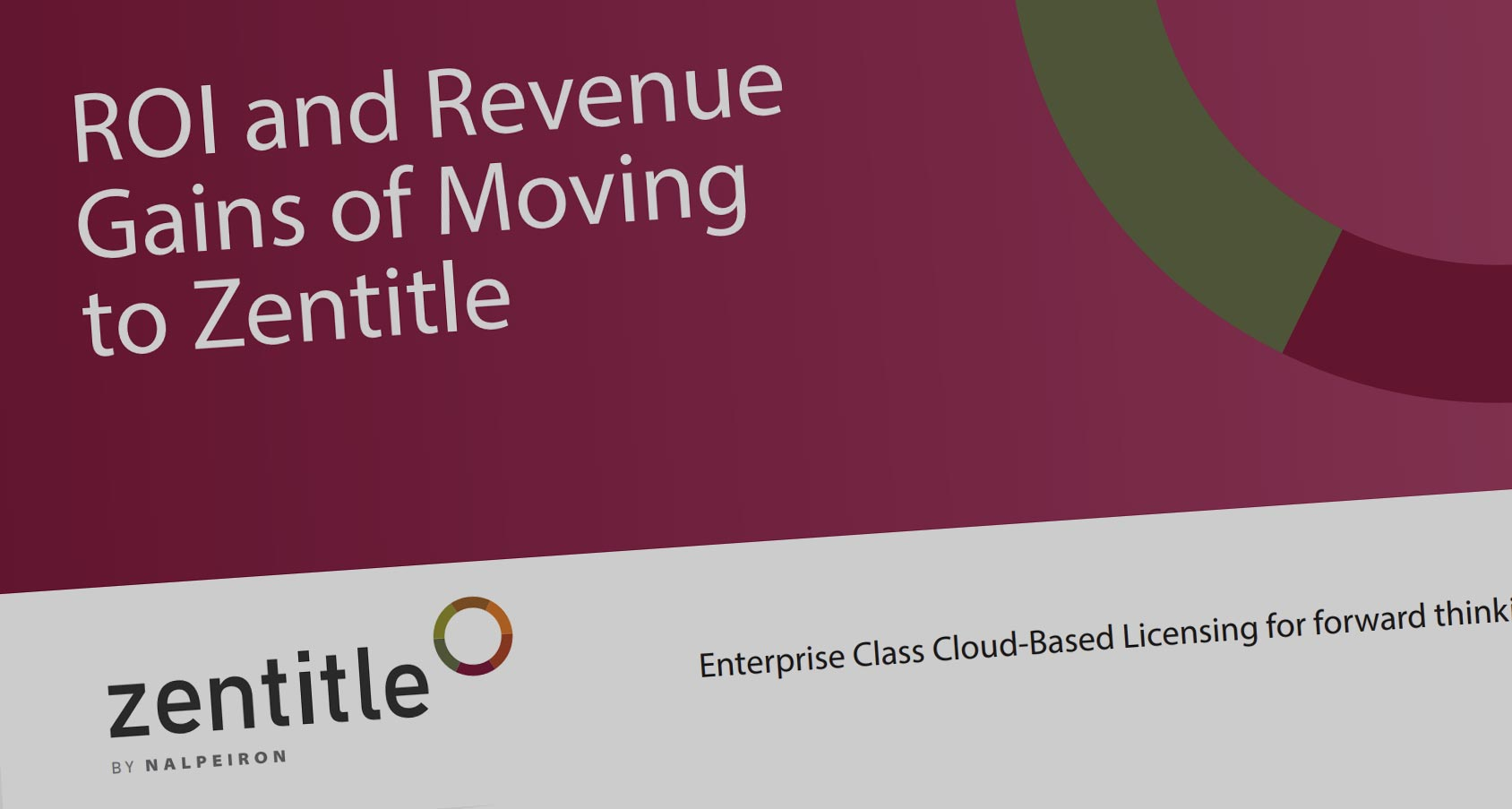New Guide to ROI and Revenue Gains of Moving to Zentitle - Available Now