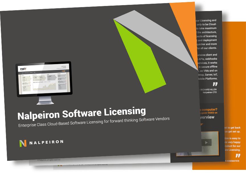 Nalpeiron Software Licensing Datasheet